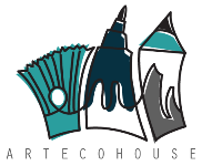 Arteco House. Art & Business Logo
